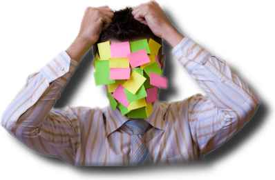 "Complaints about the stresses and strains of ""information overload"