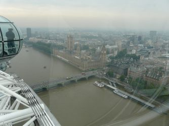 Central London as seen from the incredible London Eye